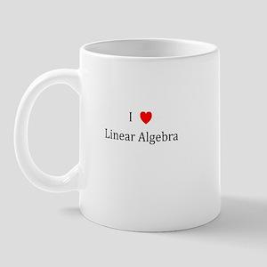 I Heart Linear Algebra Mug