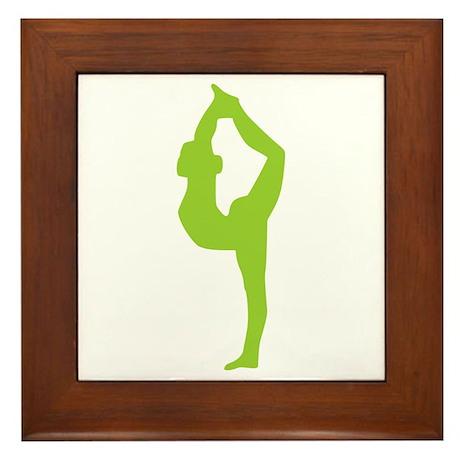 Yoga Framed Tile