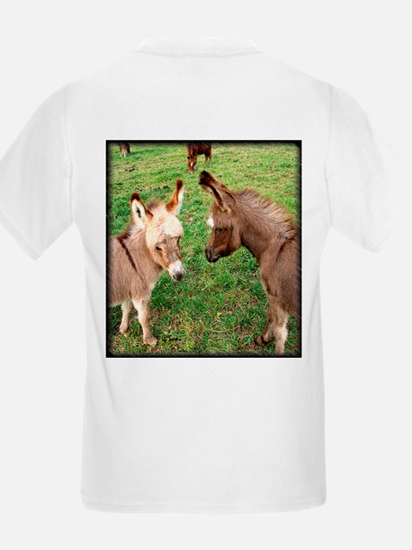 Two Baby Donkeys Kids T-Shirt
