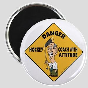 Hockey Coach Magnet