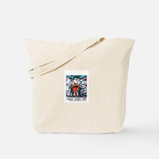 Cazbee - Duck Cartoon Tote Bag