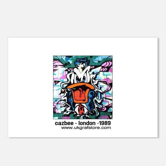 Cazbee - Duck Cartoon Postcards (Package of 8)