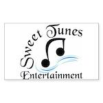 Sweet Tunes Rectangle Sticker 10 pk)