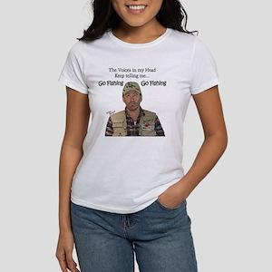 Go Fishing Women's T-Shirt