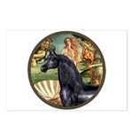 Venus/Arabian horse (blk) Postcards (Package of 8)