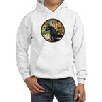 Venus/Arabian horse (blk) Hooded Sweatshirt