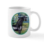 Bridge/Arabian horse (blk) Mug