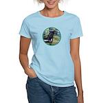 Bridge/Arabian horse (blk) Women's Light T-Shirt