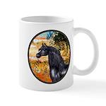 Garden/Arabian horse (blk) Mug