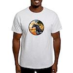 Garden/Arabian horse (blk) Light T-Shirt