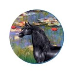 Lilies/Arabian horse (blk) 3.5