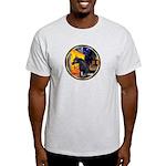 Cafe/Arabian horse (blk) Light T-Shirt