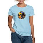 Cafe/Arabian horse (blk) Women's Light T-Shirt