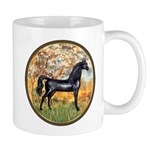 Spring/Arabian horse (blk) Mug