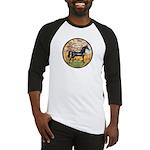 Spring/Arabian horse (blk) Baseball Jersey