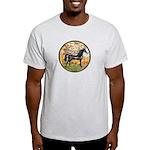 Spring/Arabian horse (blk) Light T-Shirt