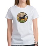 Spring/Arabian horse (blk) Women's T-Shirt
