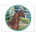 Bridge/Arabian horse (brn) Small Poster