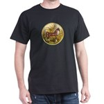Palms/Arabian horse (w) Dark T-Shirt