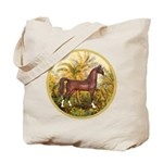 Palms/Arabian horse (w) Tote Bag