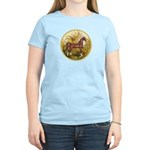 Palms/Arabian horse (w) Women's Light T-Shirt