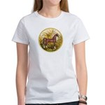 Palms/Arabian horse (w) Women's T-Shirt