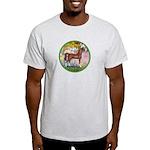 Garden/Arabian horse (brn) Light T-Shirt