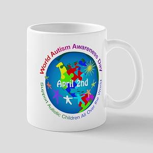 World Autism Awareness Day Mugs