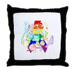 Pride Awareness & Support Throw Pillow