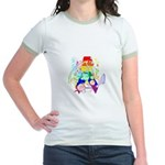 Pride Awareness & Support Jr. Ringer T-Shirt