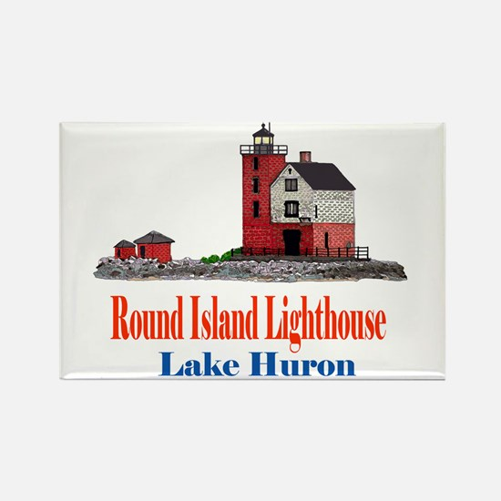 Cute Lake huron Rectangle Magnet
