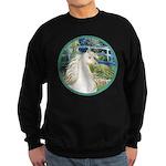 Bridge/Arabian horse (w) Sweatshirt (dark)