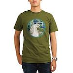 Bridge/Arabian horse (w) Organic Men's T-Shirt (da