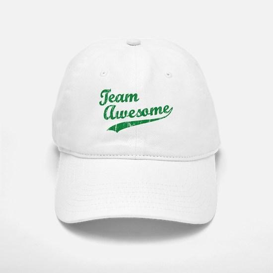 Team Awesome Baseball Baseball Cap