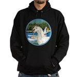 Sailboats/Arabian Horse (w) Hoodie (dark)