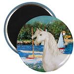 Sailboats/Arabian Horse (w) 2.25