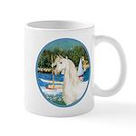 Sailboats/Arabian Horse (w) Mug
