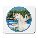 Sailboats/Arabian Horse (w) Mousepad