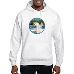 Sailboats/Arabian Horse (w) Hooded Sweatshirt