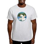 Sailboats/Arabian Horse (w) Light T-Shirt