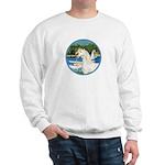 Sailboats/Arabian Horse (w) Sweatshirt