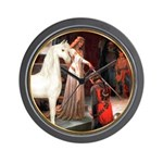 Accolade/Arabian Horse (w) Wall Clock