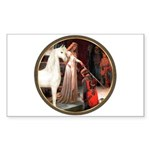 Accolade/Arabian Horse (w) Rectangle Sticker 10 p