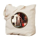 Accolade/Arabian Horse (w) Tote Bag