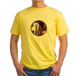 Accolade/Arabian Horse (w) Yellow T-Shirt