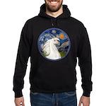 Starry/Arabian horse (w) Hoodie (dark)