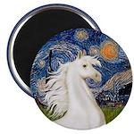 Starry/Arabian horse (w) Magnet