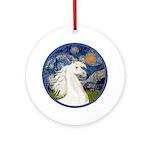 Starry/Arabian horse (w) Ornament (Round)