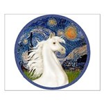 Starry/Arabian horse (w) Small Poster