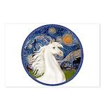 Starry/Arabian horse (w) Postcards (Package of 8)
